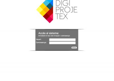 Aplicación Digiprojectex