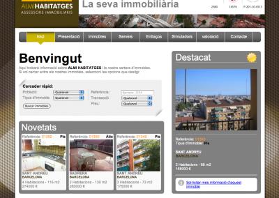 ALMI Habitatges web