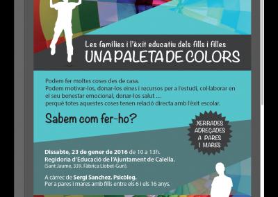 Flyer Ajuntament de Calella