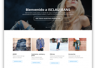 Ecommerce Isclaujeans