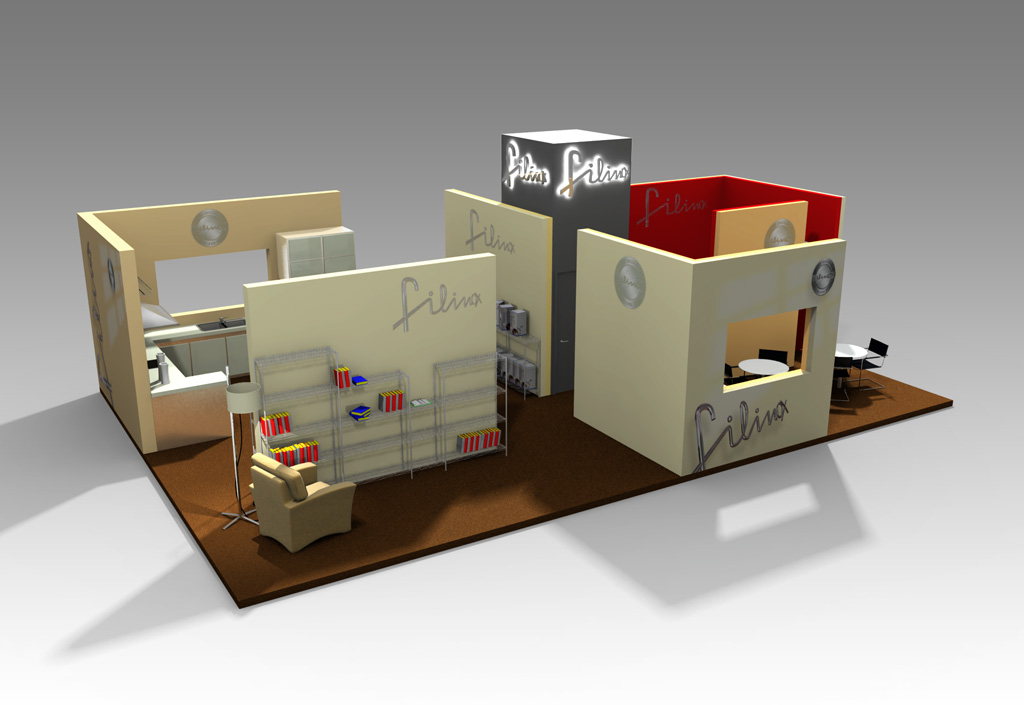 Stands comerciales 3D